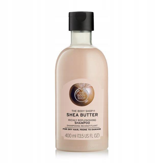 the body shop shea butter odżywczy szampon 400ml