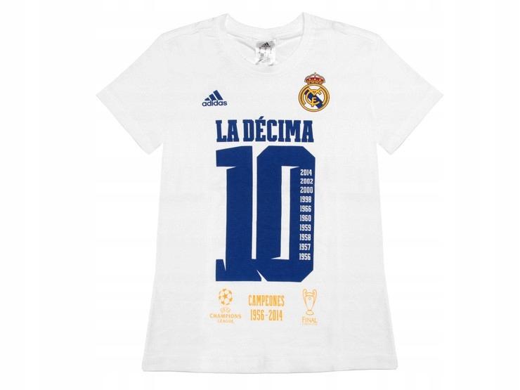 Adidas koszulka S88614 REAL MADRYT LA DECIMA 164