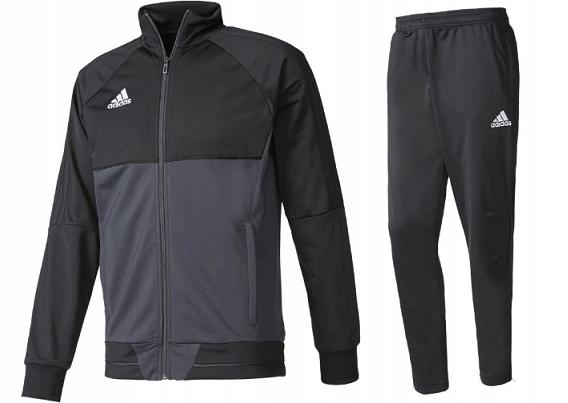Dres Męski Adidas Spodnie Bluza Sportowy Tiro17 S
