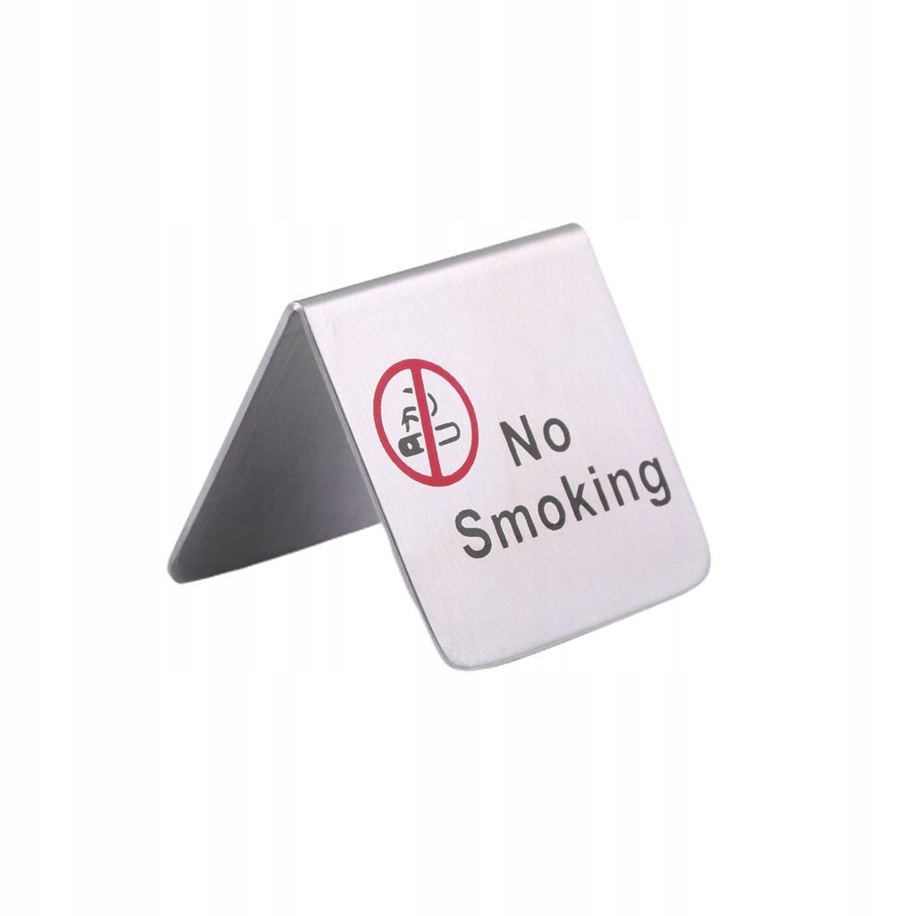 Znak namiotu dla niepalących ze stali nierdzewnej