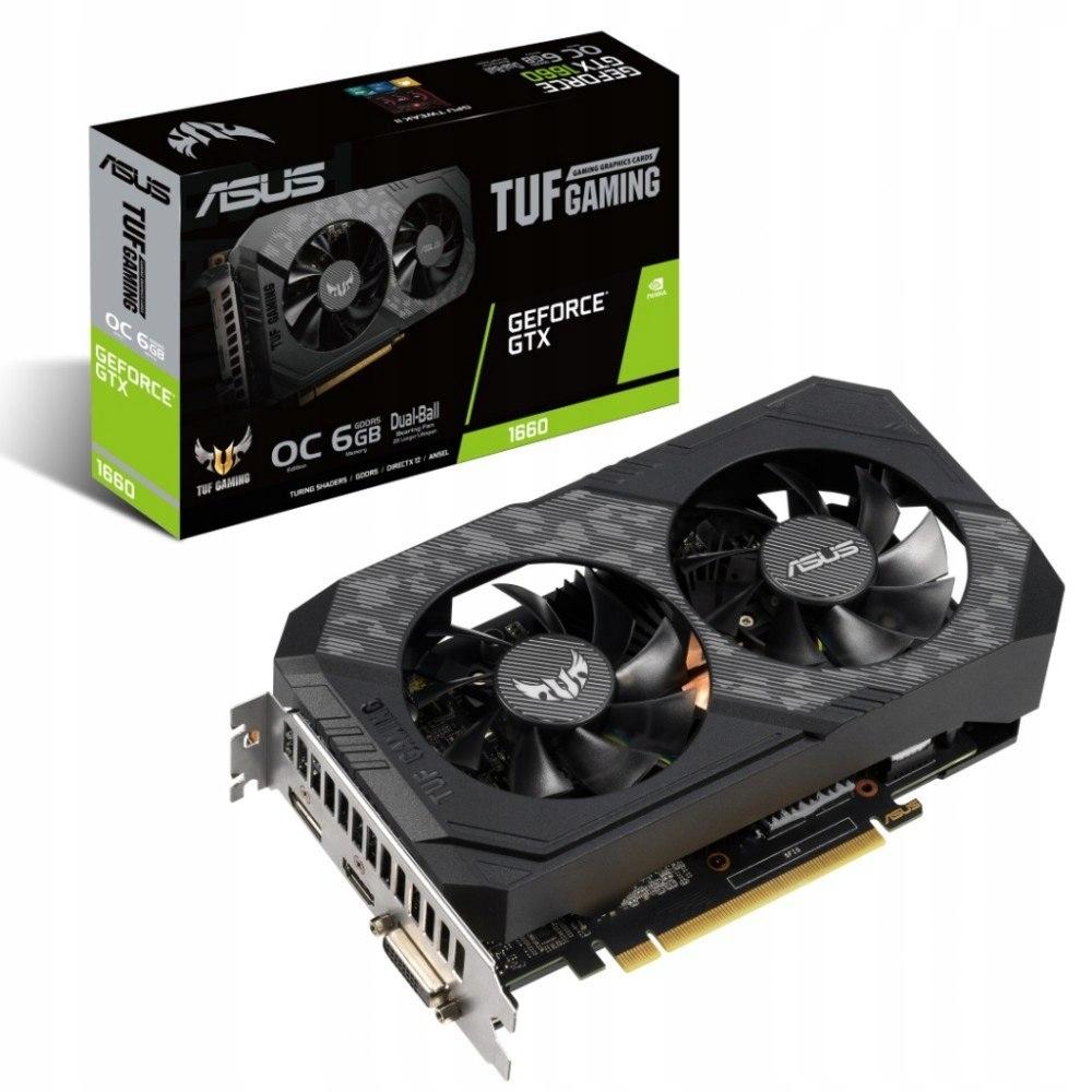Karta graficzna GeForce GTX 1660 O6G GAMING 192BIT