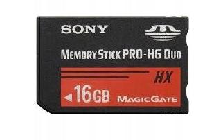 Sony Memory Stick PRO-HG Duo 16GB Karta