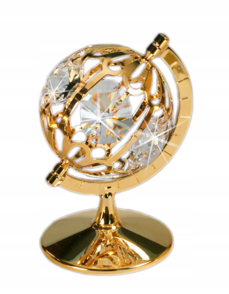 Figurka Swarovski Crystals Globus