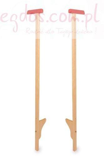 Długie wysokie SZCZUDŁA para 120cm drewniane 2szt