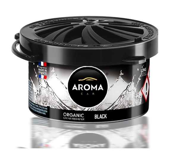 Zapach samochodowy ORGANIC AromaCar BLACK