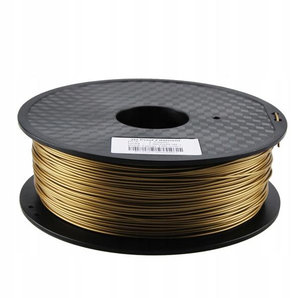 Filament PLA 3,00mm złoty 1kg