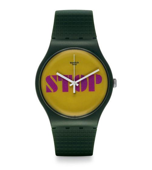 Zegarek Swatch SUOG104 STOP THINK TALK NEW GENT
