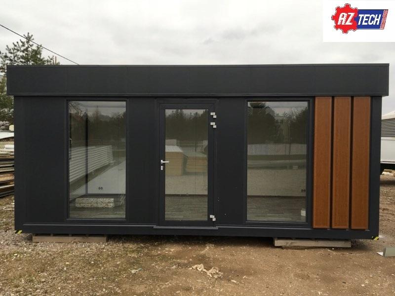 Kontener biurowy / mieszkalny / ogrodowy 6 x 3 m