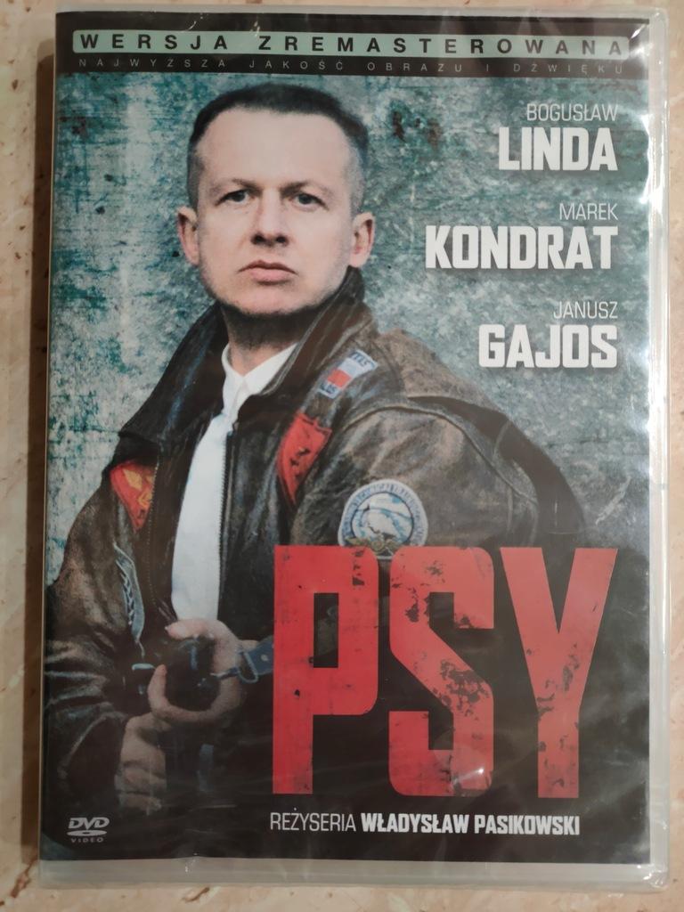 DVD Psy_PL (Linda, Kondrat, Gajos) / folia