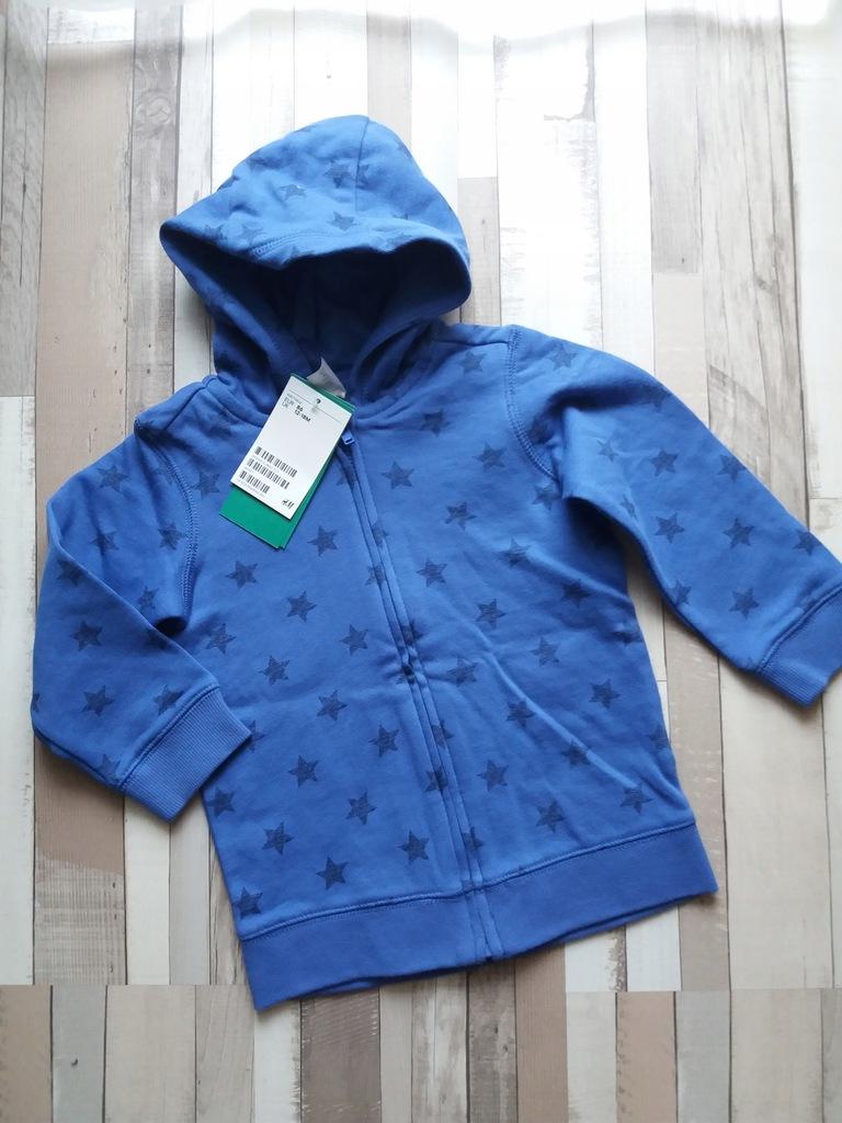 Nowa Bluza z kapturem h&m rozm. 86