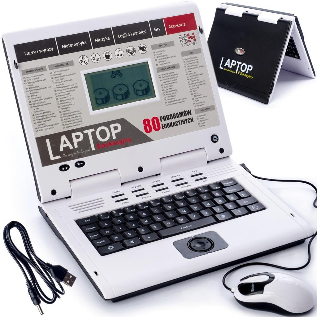 Laptop Edukacyjny Dla Dzieci 80 Programow Usb Pl 8704971434 Oficjalne Archiwum Allegro
