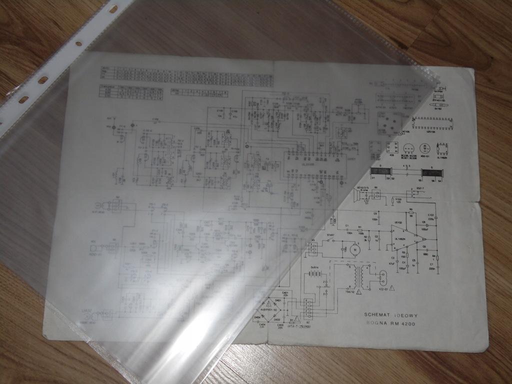 Oryginalna instrukcja i schemat ideowy BOGNA