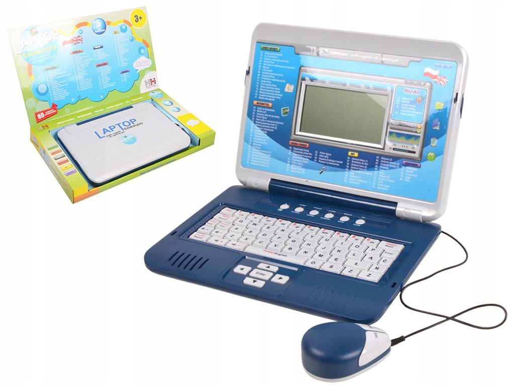Laptop Edukacyjny Dla Dzieci Dwujezyczny Komputer