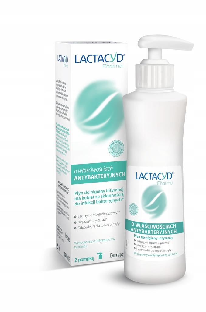 LACTACYD PHARMA Płyn ginekologiczny 250ml antybakt