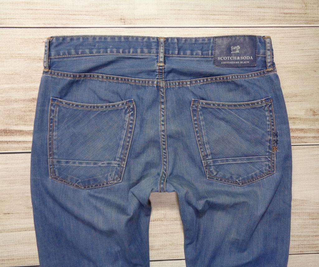 Spodnie SCOTCH&SODA 36/32 W36 L32 Ralston