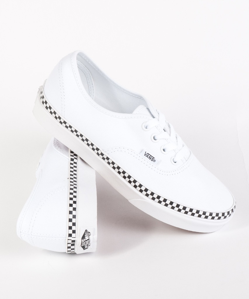 Check Foxing Slip On Shoes