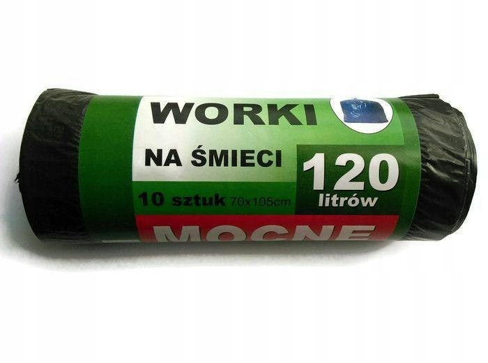 Elh Worki Na Śmieci 120l A10 Czarne