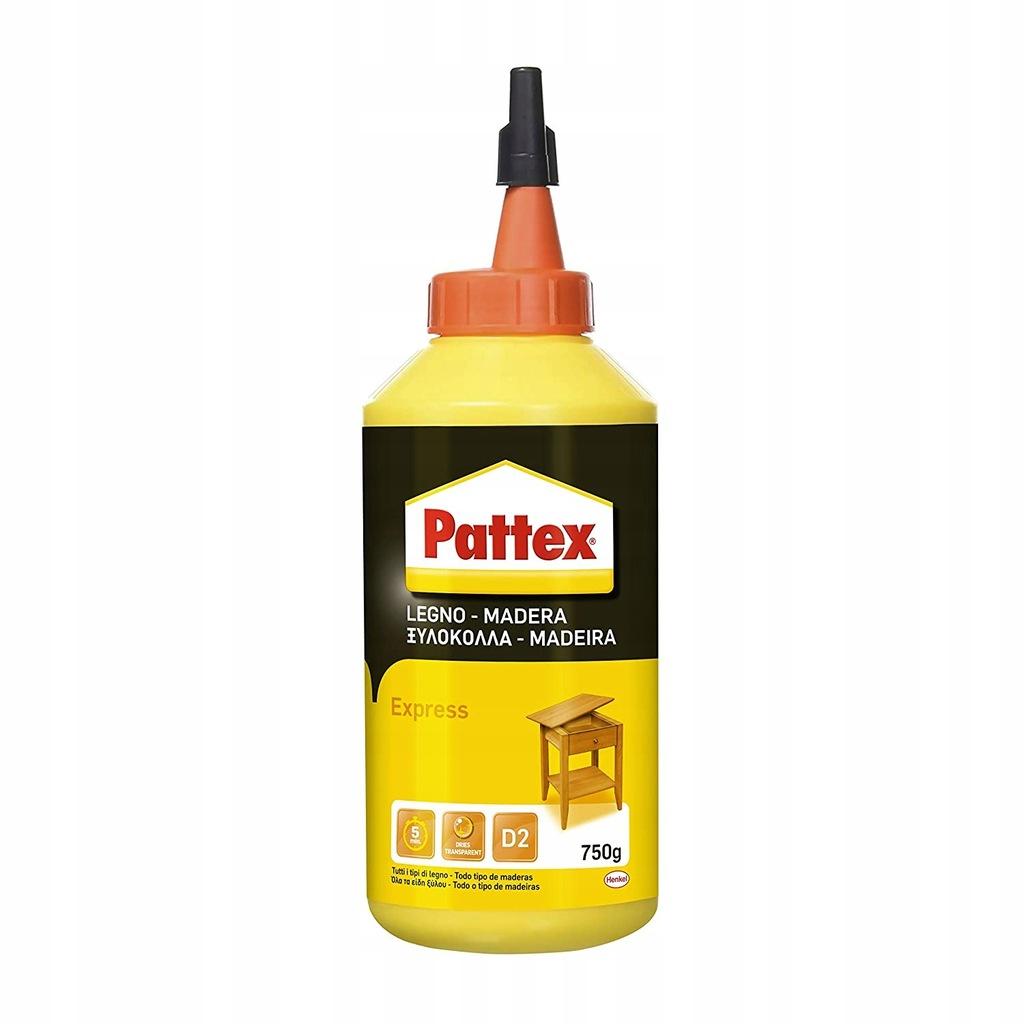 PATTEX SZYBKOSCHNĄCY KLEJ DO DREWNA 750G 119622