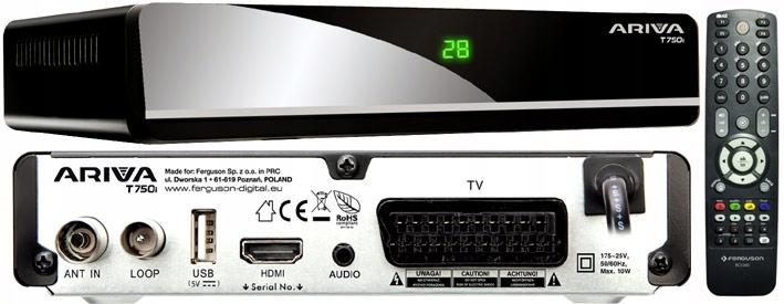 FERGUSON ARIVA T750i DVB-T INTERNET WYPRZEDAŻ KRAK