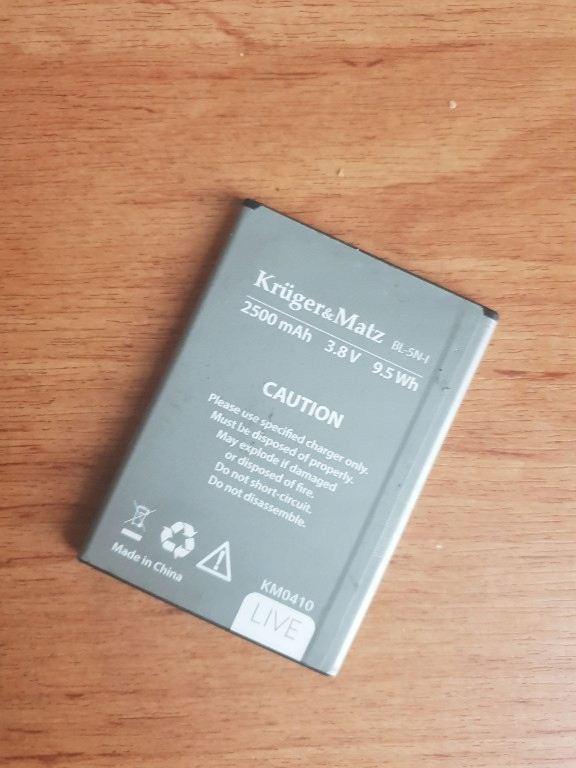Orginalna Bateria Kruger Matz Live 2 7787737047 Oficjalne Archiwum Allegro
