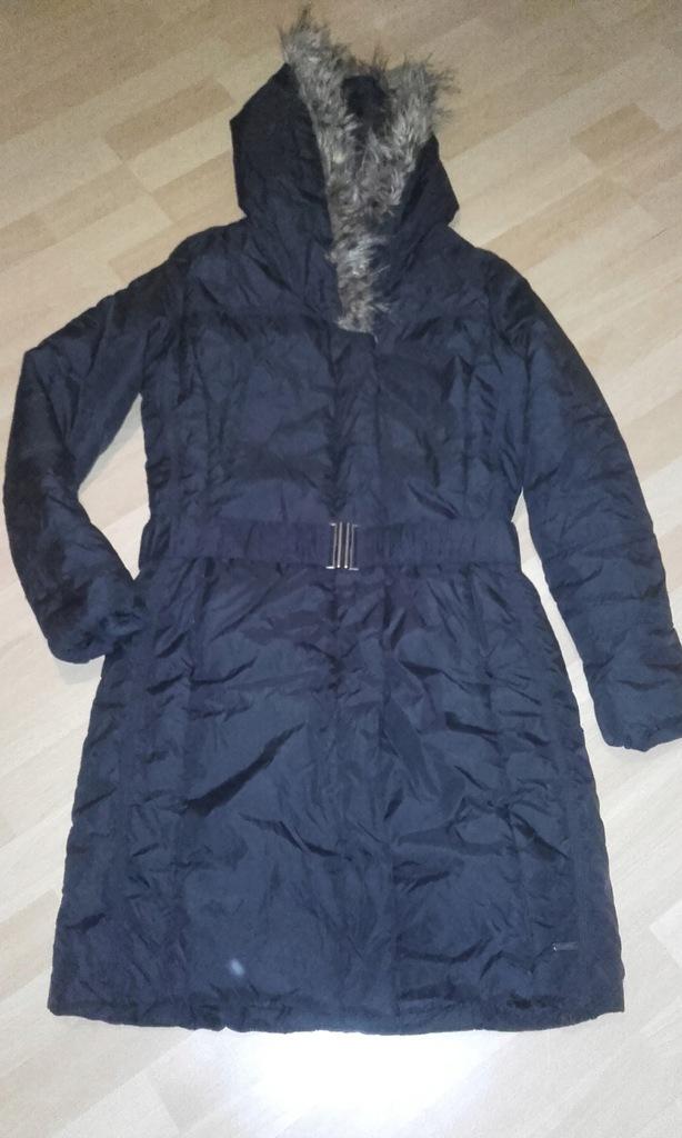 Płaszcz kurtka Carry czarny 38 M kaptur zima 7764306271