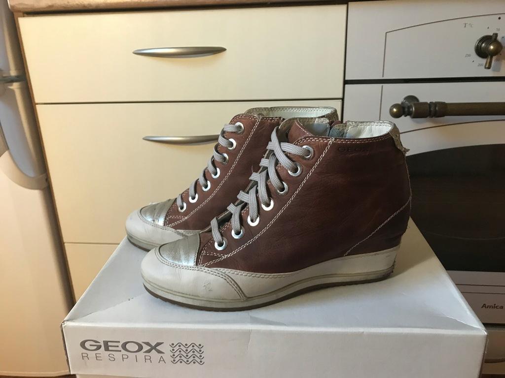 Sneakersy botki Geox 36 37