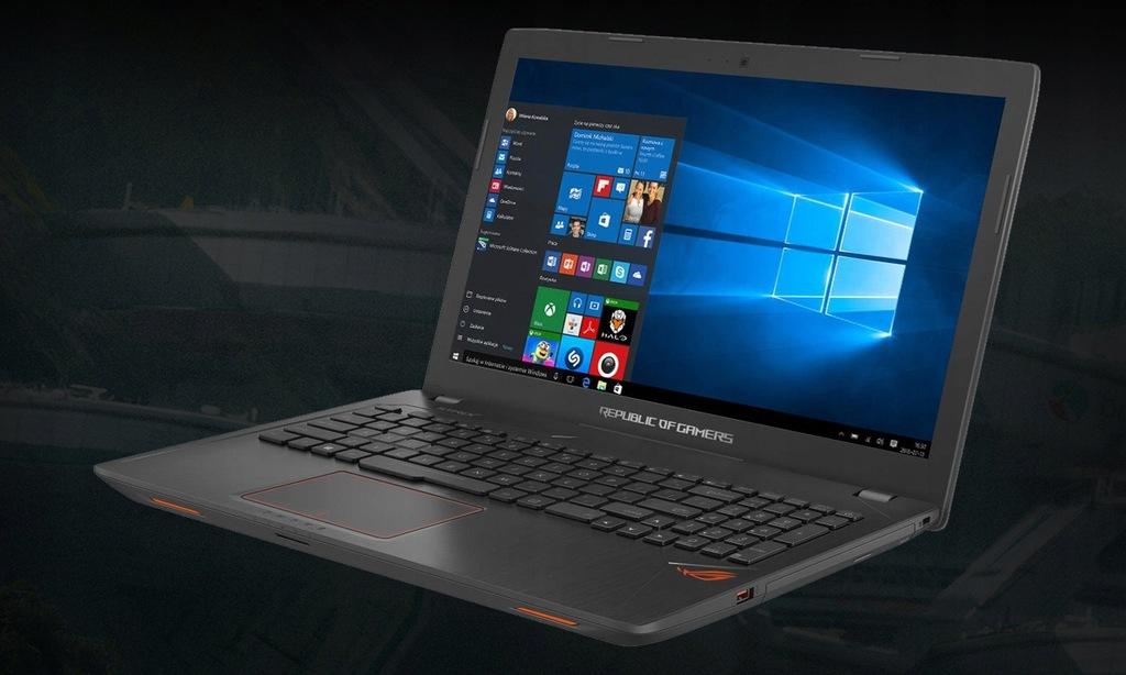 Laptop Asus ROG i7-7700HQ Geforce GTX 1050 16GB