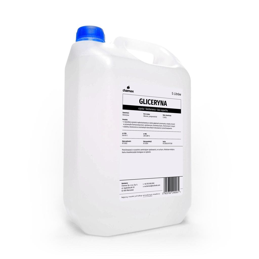 GLICERYNA ROŚLINNA FARMACEUTYCZNA 5 L ~6.25 kg