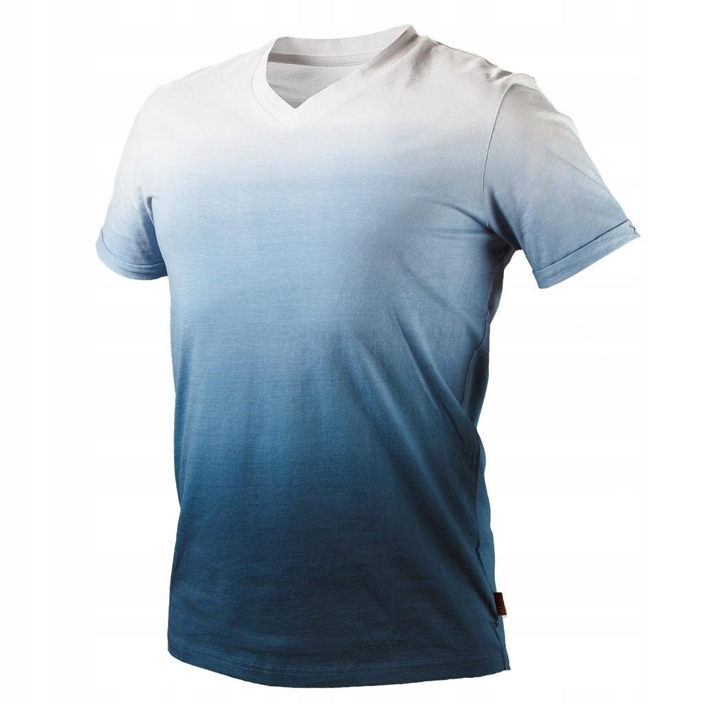 T-shirt cieniowany DENIM, rozmiar XXL