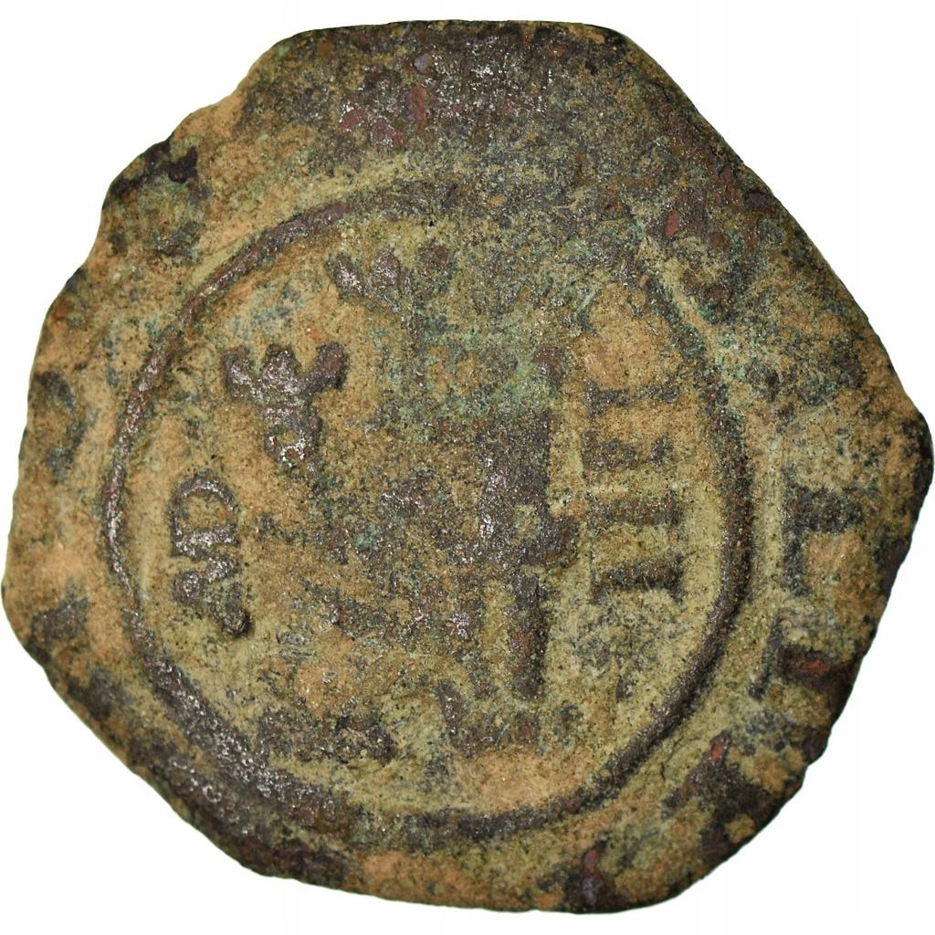 Moneta, Hiszpania, Philip III, 4 maravedis, 1618,