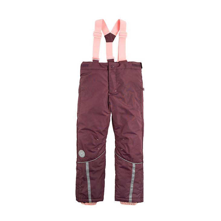Cool Club spodnie narciarskie 110 fiolet oddychają