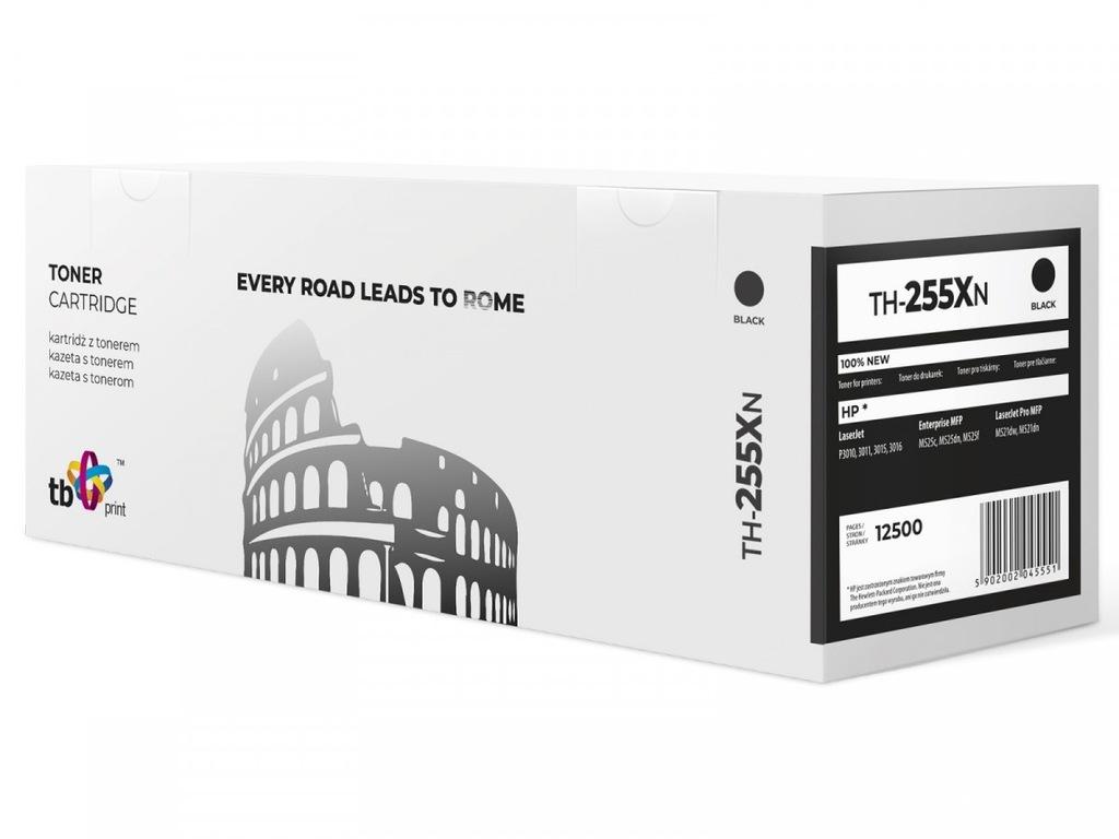 Toner do HP CE255X LJ P3015 BK TH-255XN 100% nowy
