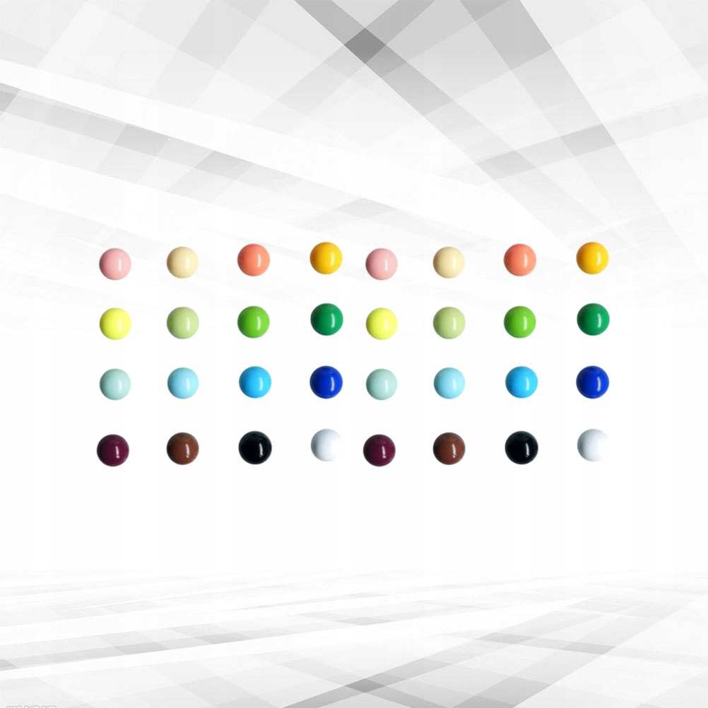 32pcs Colorful Refrigerator Stickers Creative Refr