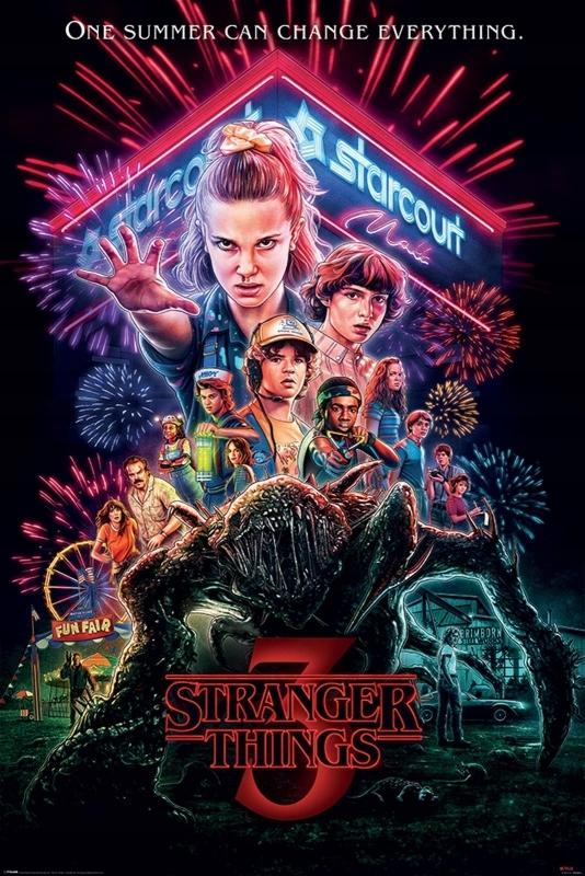 Stranger Things Summer of 85 - plakat 61x91,5