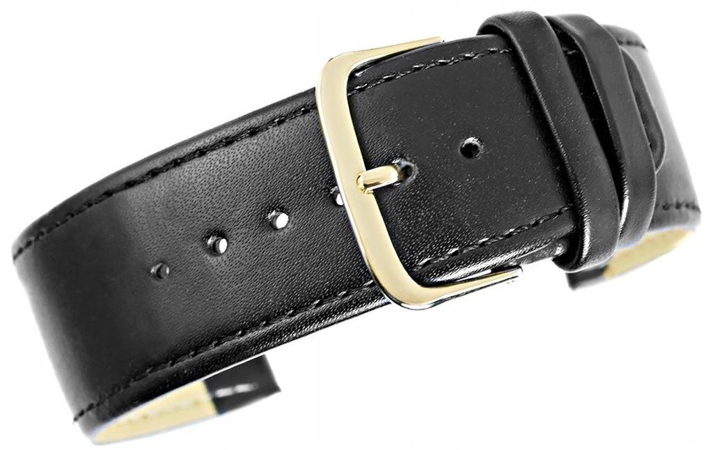 Pasek DIESEL DZ4323 czarny skórzany 26 mm