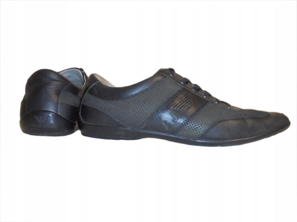 Skórzane buty firmy Armani Jeans. Rozmiar 44.