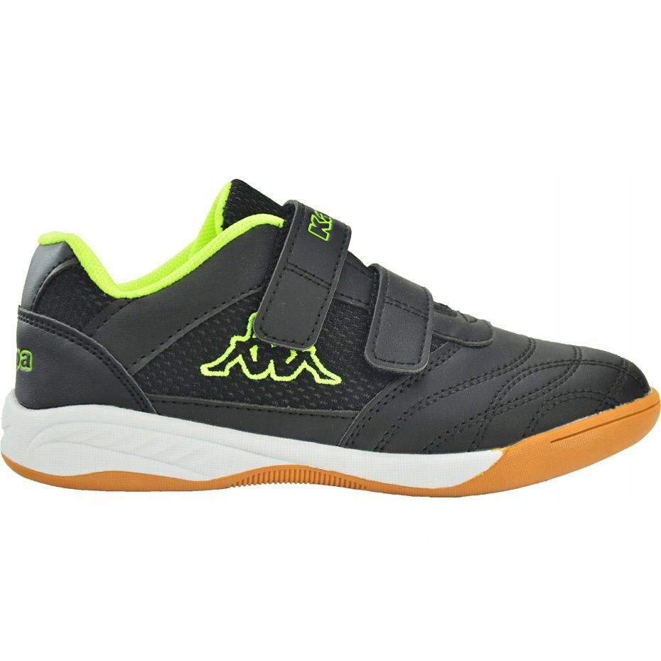 Buty dla dzieci Kappa Kickoff T czarno-żółte 38
