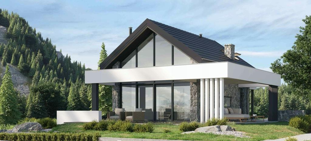 Projekt domu HomeKONCEPT 65 A w wersji całorocznej