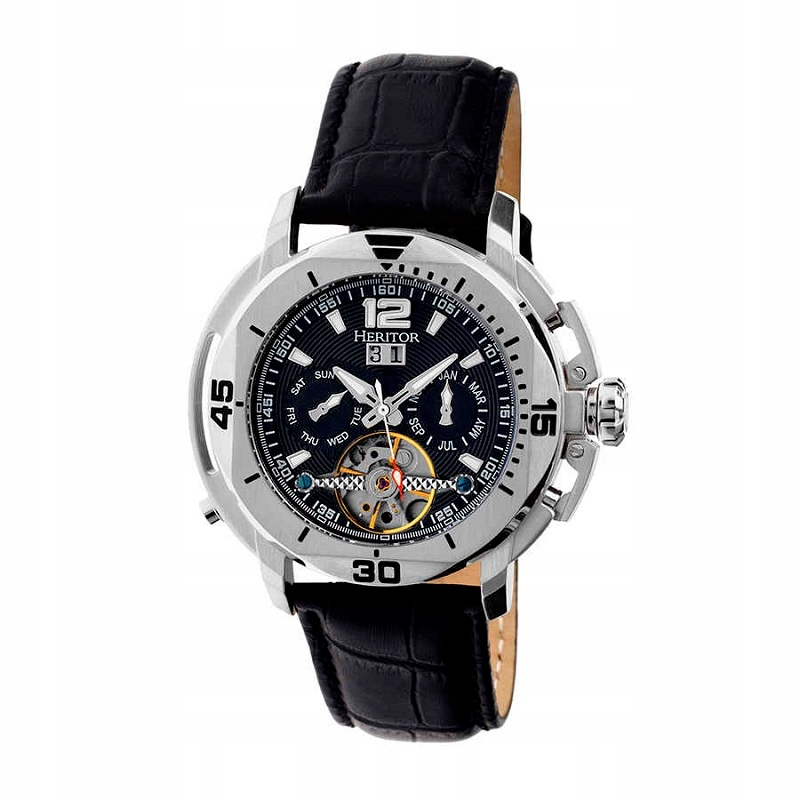 Heritor HERHR2801 Zegarek Męski Automatyczny Czerń