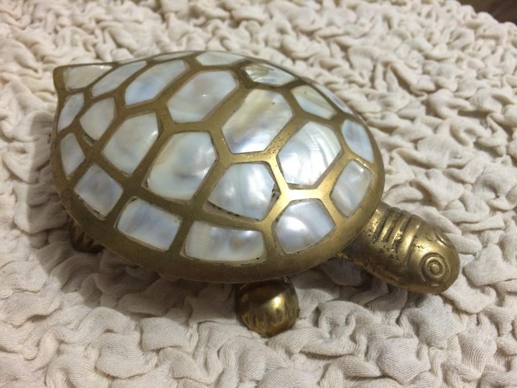 Żółwik na biżuterię / szkatułka