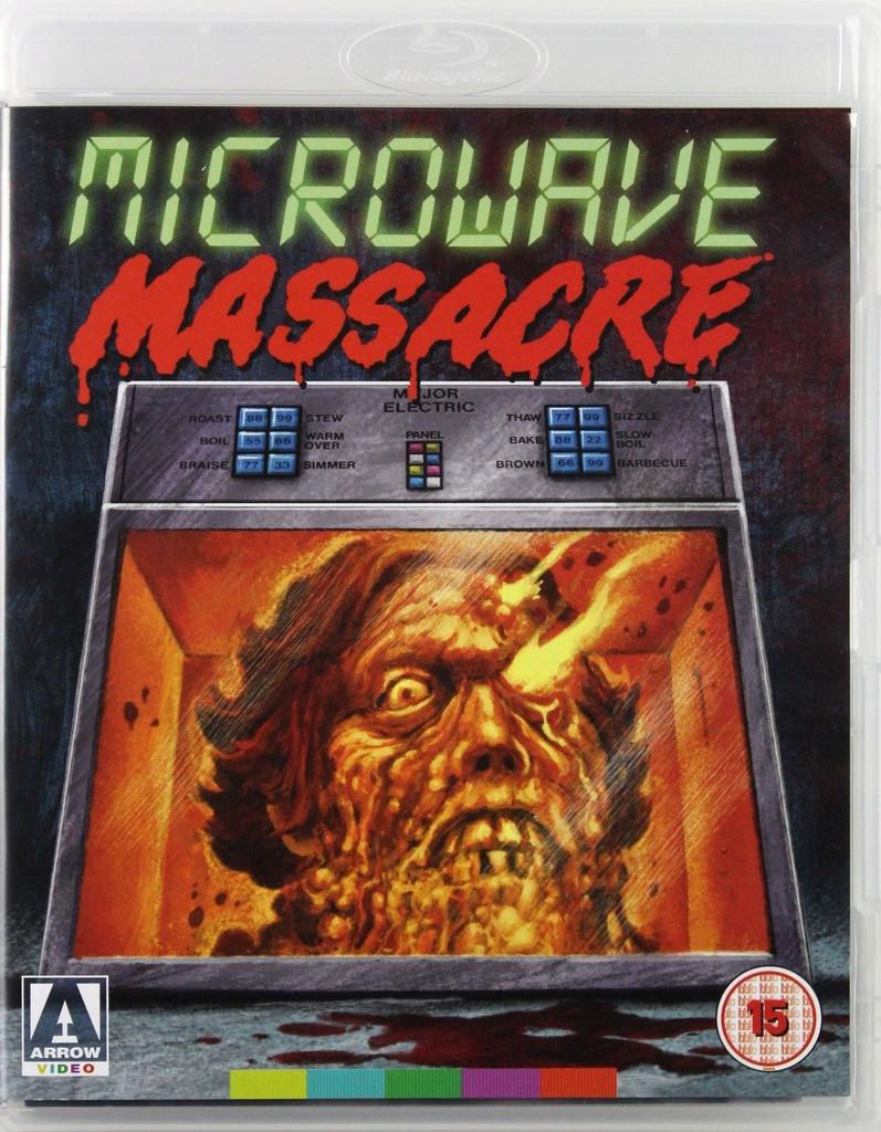 MICROWAVE MASSACRE [BLU-RAY]+[DVD]
