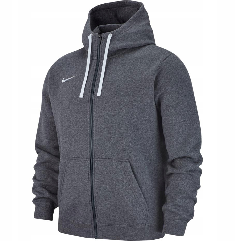 Bluza męska Nike Team Club 19 rozpinana szara L