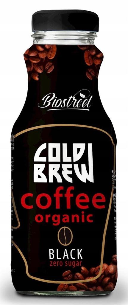 Kawa parzona na zimno cold brew black bez dodatku