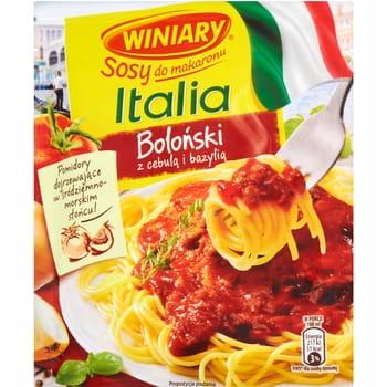 WINIARY Sosy do makaronu Italia boloński z cebulą