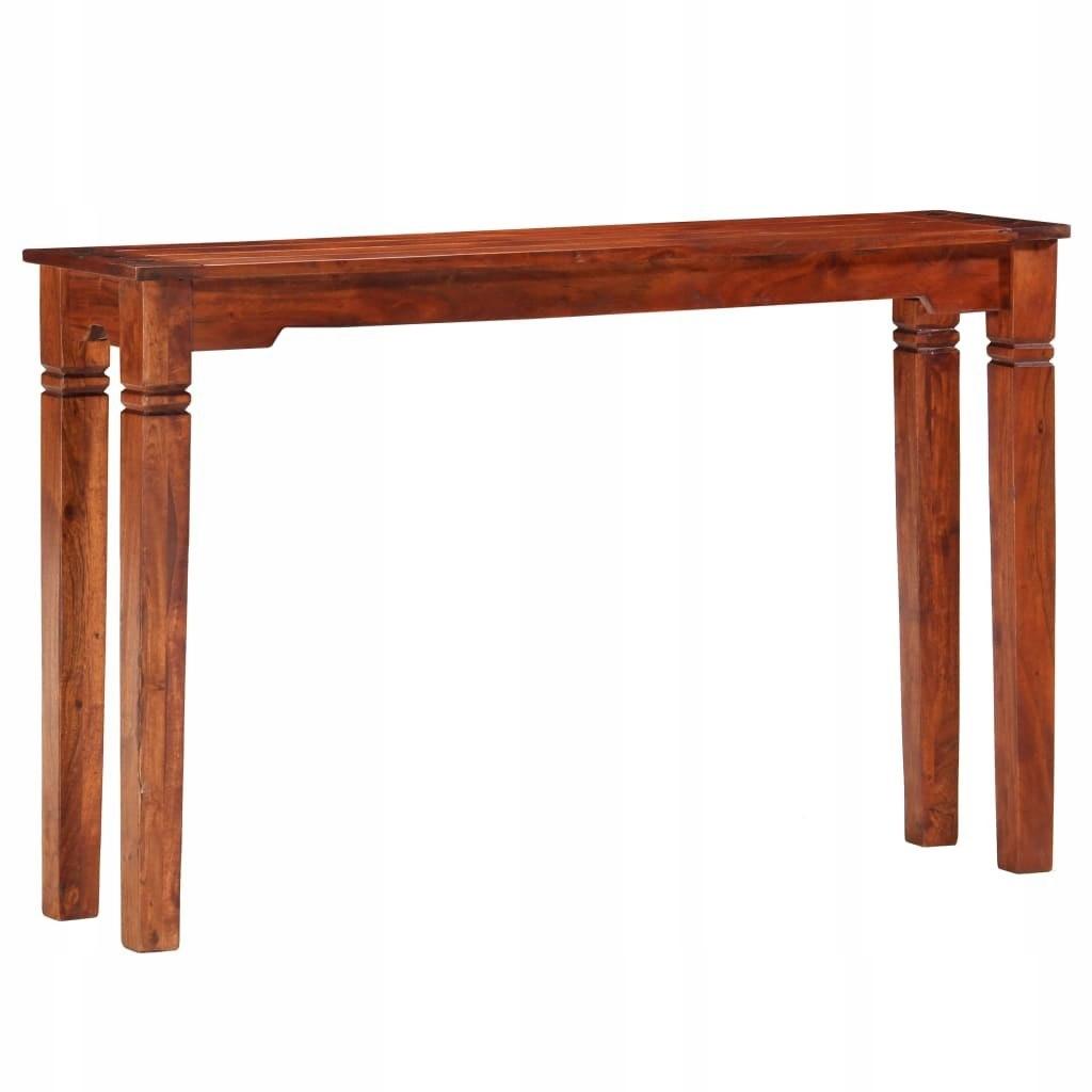 Stolik konsolowy 120x30x76cm drewno akacji VidaXL