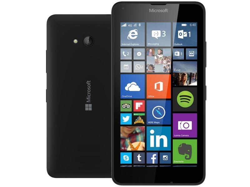Smartfon Microsoft Lumia 640 czarny 8 GB