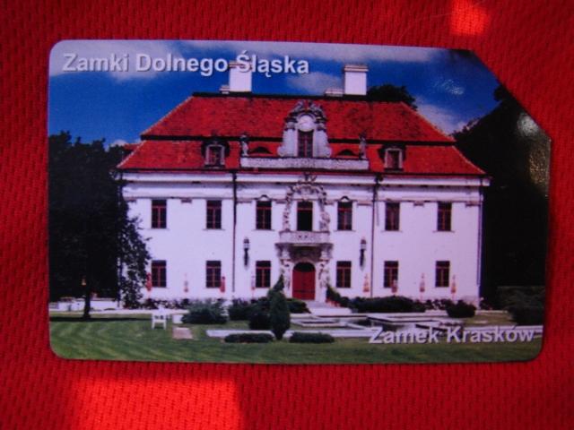 karta zamki dolnego śląska -Zamek Krasków