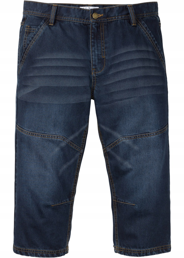 D38 BPC Jeansy 3/4 Regular Fit Tapered 58 pas:112