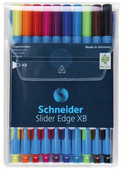 Zestaw długopisów w etui Schneider Slider Edge, XB