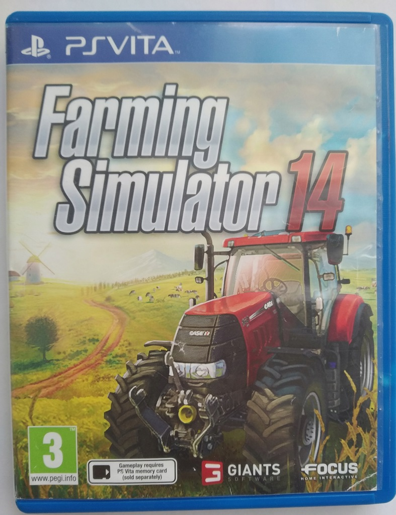 FARMING SIMULATOR 14 2014 - PS VITA